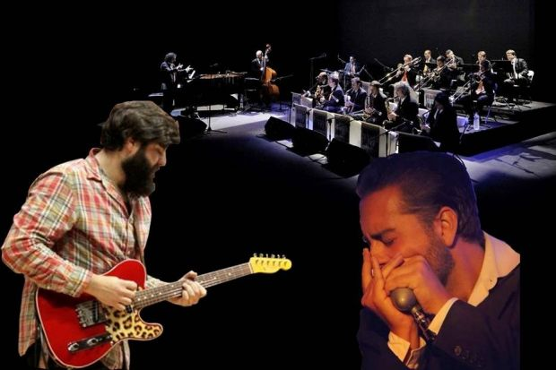 Big Band Jazz Maresme, the blues and the roots. Amb Victor Puertas i Tòfol